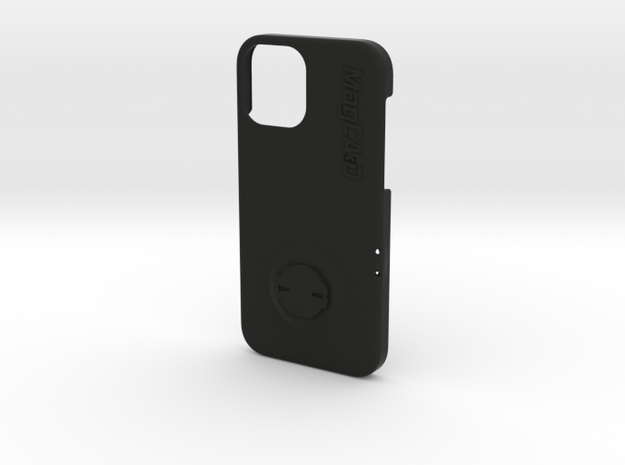 iPhone 12 Pro Garmin Mount Case in Black Natural Versatile Plastic