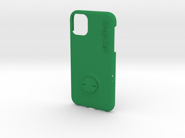 iPhone 11 Garmin Mount Case in Green Processed Versatile Plastic