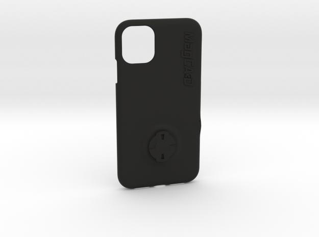 iPhone 11 Wahoo Mount Case in Black Natural Versatile Plastic