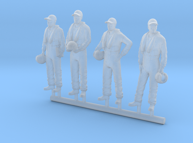 64-H0020: Tracker pilots scale 1:64 in Smooth Fine Detail Plastic