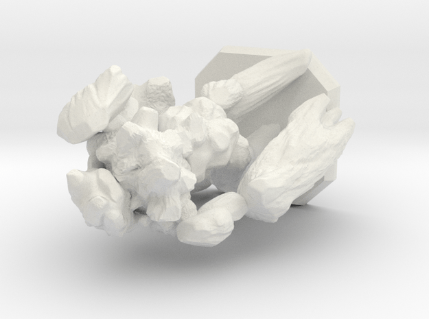 earth elemental miniature in White Natural Versatile Plastic