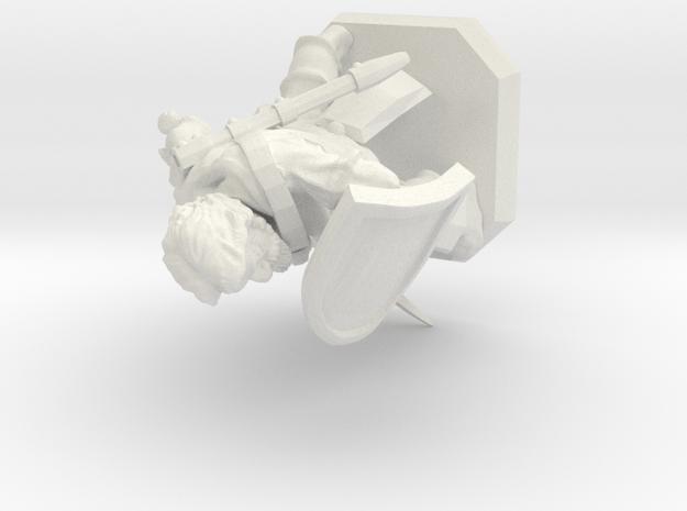 Palladin in White Natural Versatile Plastic