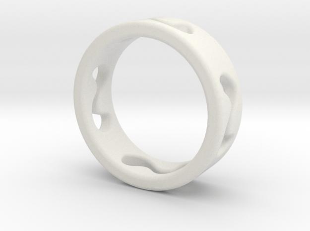 ring_2 in White Natural Versatile Plastic