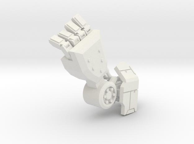 Robot Arm 90% in White Natural Versatile Plastic