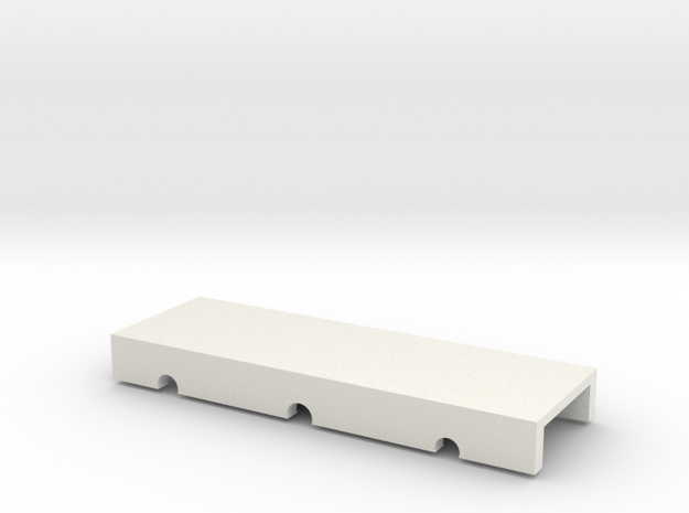 Wheel_test top cover in White Natural Versatile Plastic