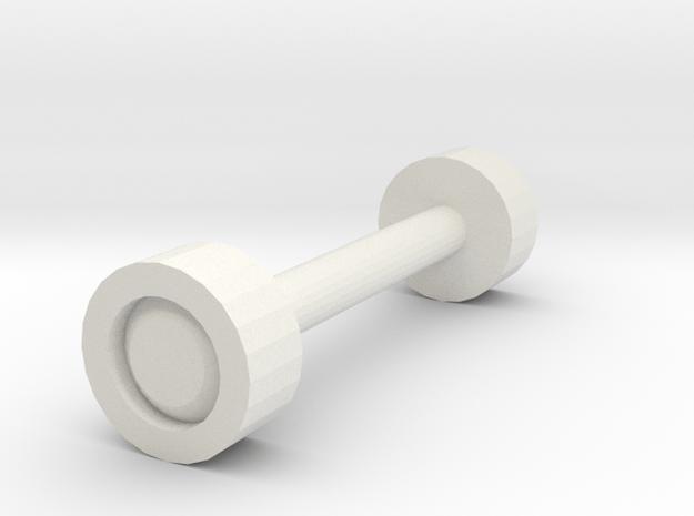 Wheel_test Wheel in White Natural Versatile Plastic