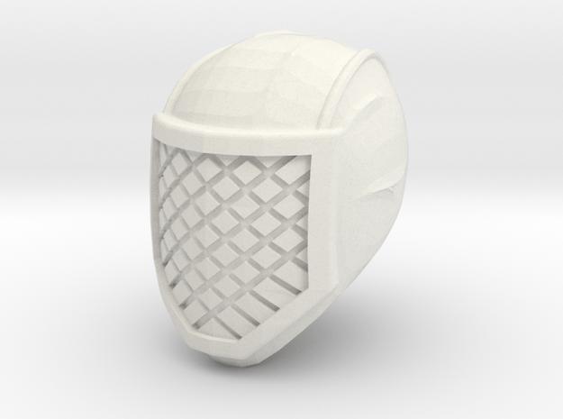 ninja head 2 in White Natural Versatile Plastic