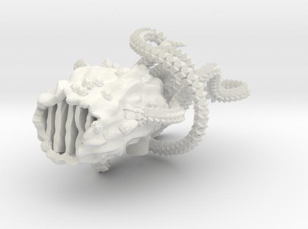 M-Ships Faction 2 Juvenile in White Natural Versatile Plastic