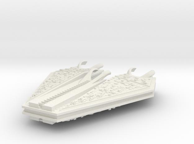 M-Ships Faction 1 Dreadnought in White Natural Versatile Plastic