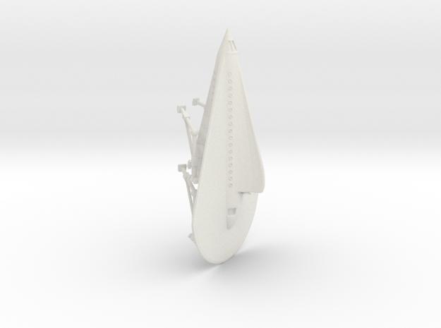 """R-Rocket """"Venus""""-Class Medium in White Natural Versatile Plastic"""