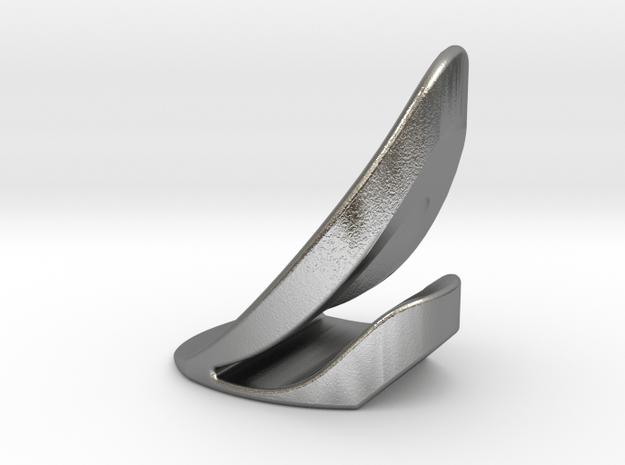 Metal Flicka in Natural Silver