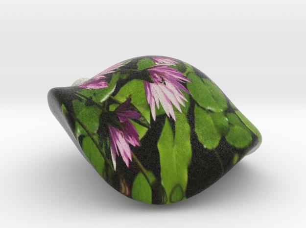Lily-Pond Critter (flat base) in Full Color Sandstone