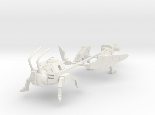 Ransack-tor - Grasshopper mode in White Natural Versatile Plastic