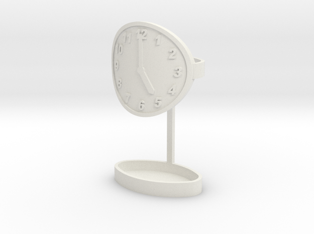 5 O''clock somewhere flicka in White Natural Versatile Plastic