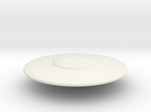 R-Rocket UFO 003 in White Natural Versatile Plastic