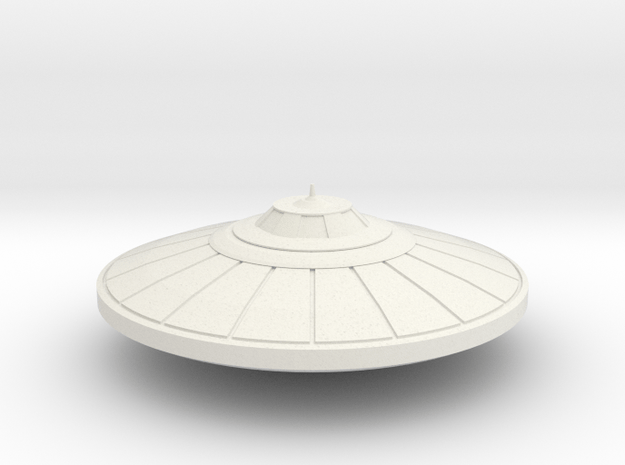 R-Rocket UFO 002 in White Natural Versatile Plastic