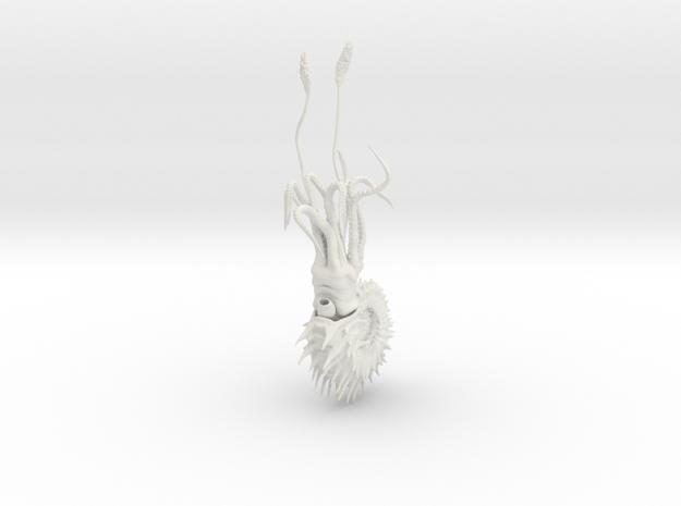 11 cm in White Natural Versatile Plastic