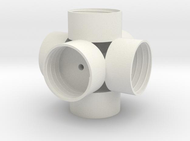 Soccer ball? in White Natural Versatile Plastic