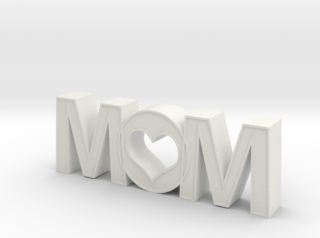 Mother''s Day 2010 in White Natural Versatile Plastic