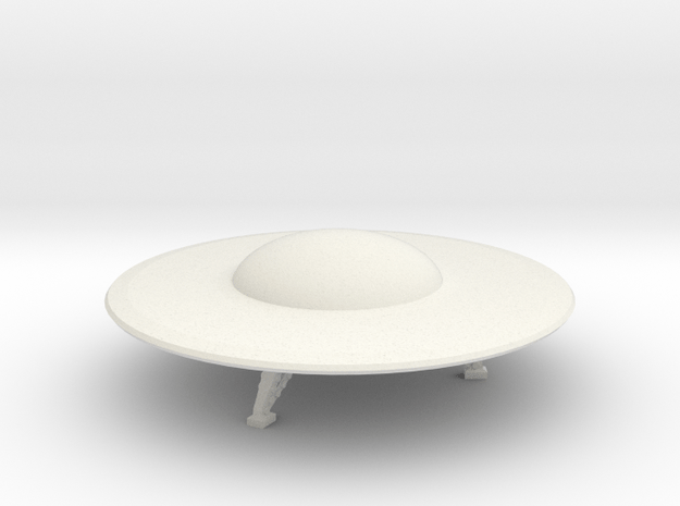 R-Rocket UFO 004 in White Natural Versatile Plastic