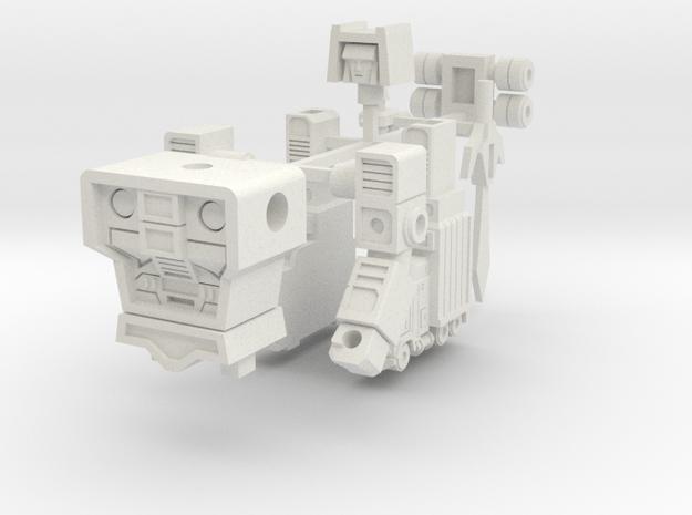 Motor Commander in White Natural Versatile Plastic