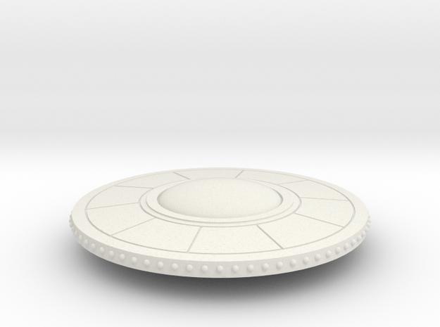 R-Rocket UFO005 in White Natural Versatile Plastic