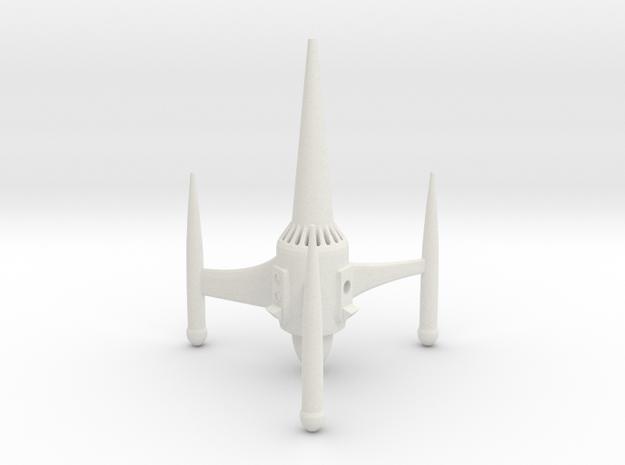 """R-Rocket """"Saturn""""-Class Medium in White Natural Versatile Plastic"""