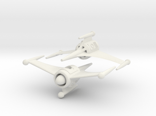 "R-Rocket ""Saturn""-Class Tiny in White Natural Versatile Plastic"
