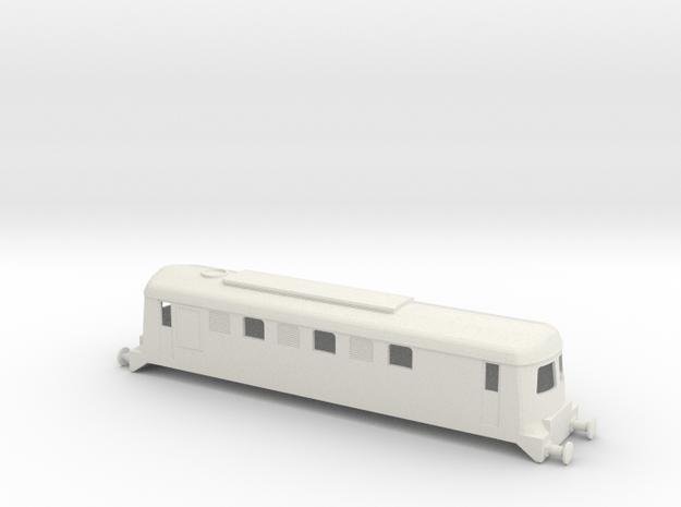 CIE B Class Sulzer Locomotive OO Scale in White Natural Versatile Plastic