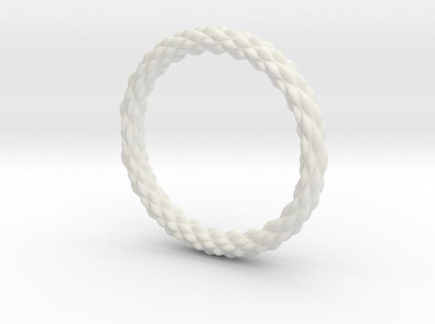 Wavelet in White Natural Versatile Plastic