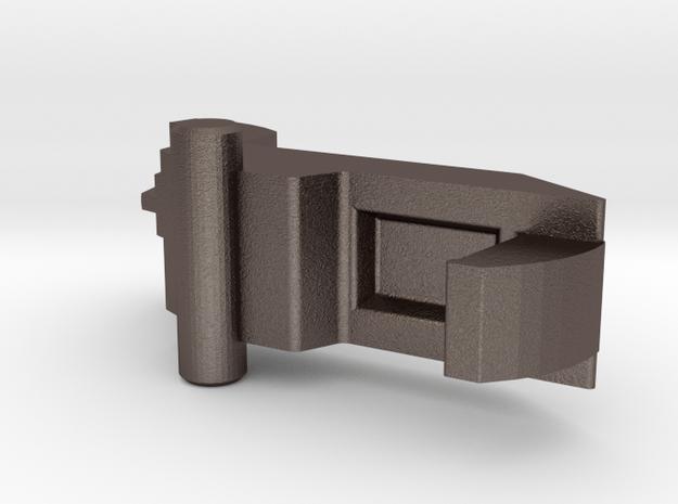 Panasonic SD253 breadmaker dispenser latch in Polished Bronzed Silver Steel