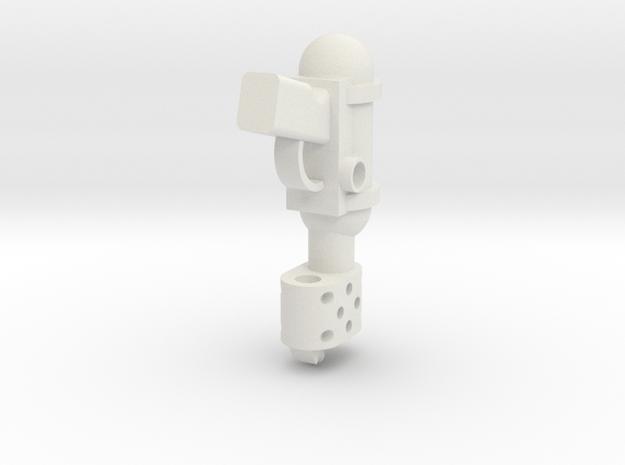 Hand Flamer in White Natural Versatile Plastic