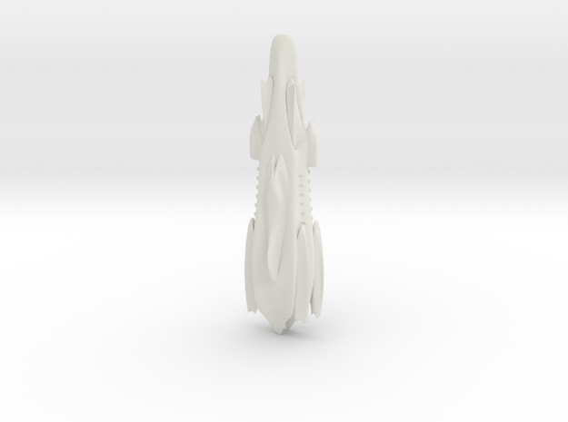Illgari Judicator Class Superdreadnought in White Natural Versatile Plastic