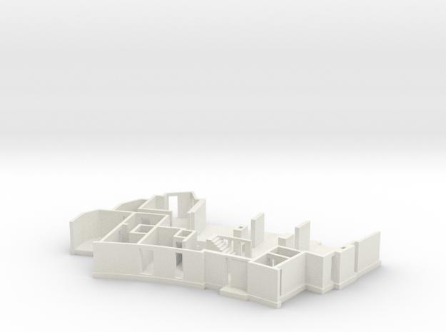 MV's house, ground floor in White Natural Versatile Plastic