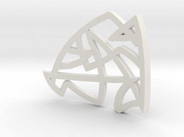 graf pendant in White Natural Versatile Plastic