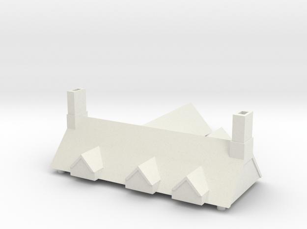 CF Roof in White Natural Versatile Plastic