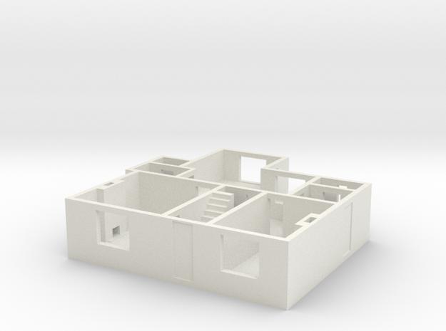 CF Ground floor in White Natural Versatile Plastic
