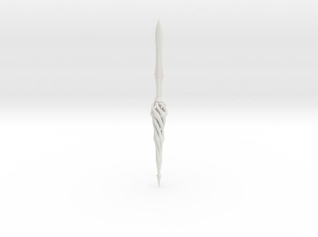 Paper knife 03 in White Natural Versatile Plastic