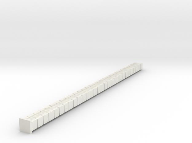 Alt Belt in White Natural Versatile Plastic