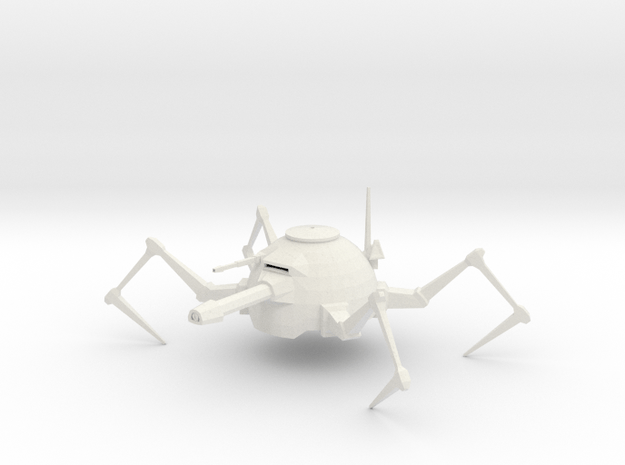 walker in White Natural Versatile Plastic