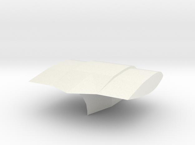 F1 T-Cam 2010 in White Natural Versatile Plastic