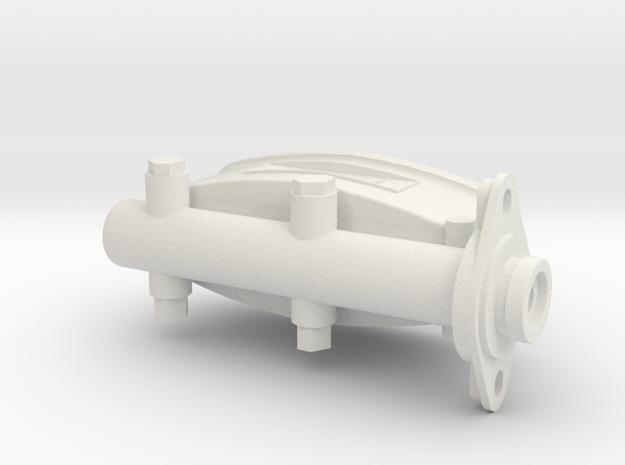 1/8 scale brakecylinder in White Natural Versatile Plastic