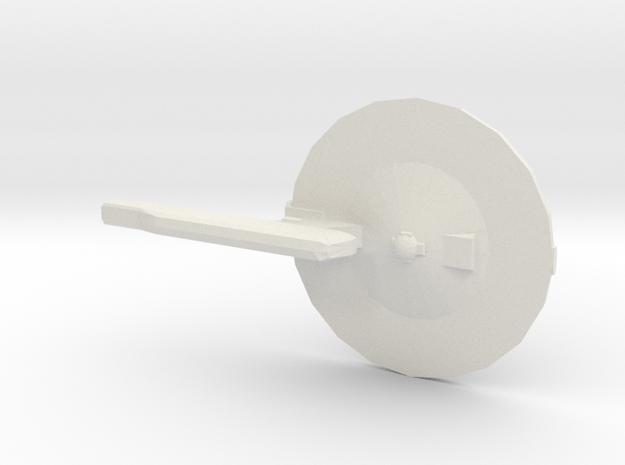 NTF Destroyer Refit 1/7000 in White Natural Versatile Plastic