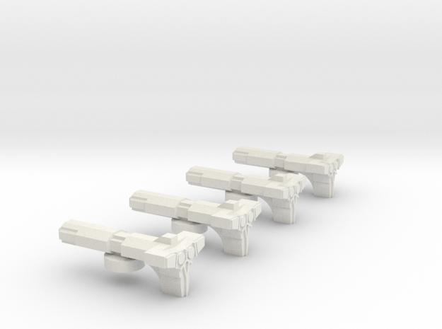 Fleet Scale Series 2 Alien Light Escort in White Natural Versatile Plastic