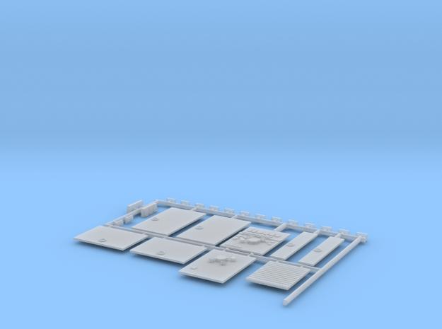 PUMPER DETAILSDOORSv2 in Smooth Fine Detail Plastic