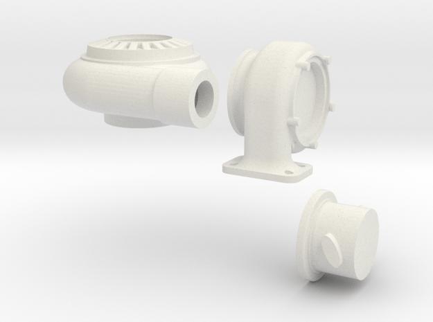 1-12 scale turbo in White Natural Versatile Plastic
