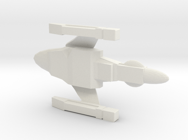 NTR Battleship Class 1/7000 (TMP) in White Natural Versatile Plastic