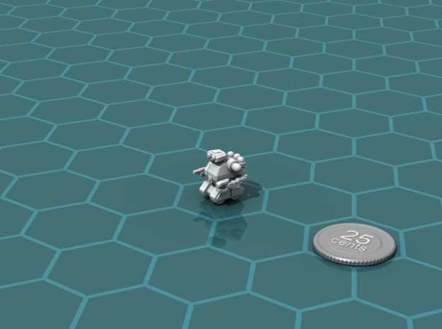 Astrobot 2 in White Natural Versatile Plastic