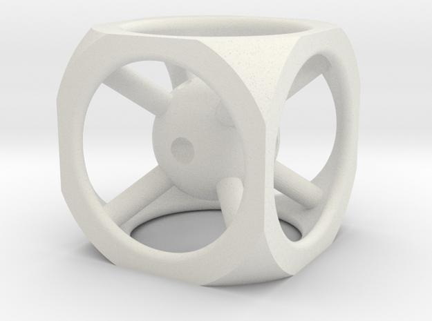 design dice in White Natural Versatile Plastic