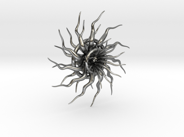 Emergence1 in Fine Detail Polished Silver